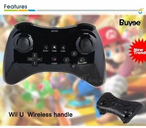 Pro Wii U Wireless Gamepad Joypad Hand Controllers Remote Consoles Rechargeable