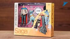 NEW SDCC 2017 EXCLUSIVE SKYBOUND MCFARLANE SAGA THE WILL & LYING CAT NIB