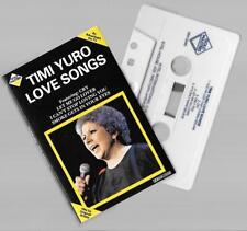 CASSETTE TIMI YURO love songs  tape