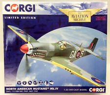 Corgi Aviation Archive AA34409 Mustang IV No 122 Sqn RAF 1945 1/32 Scale Model