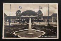1931 Basel Switzerland Zionist Congress RPPC Postcard Cover To Lithuania