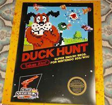 Club Nintendo Super Smash Bros 3DS / Wii U Poster Set Poster Duck Hunt