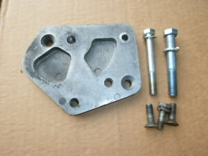 Vintage Hurst 3 & 4-Speed Shifter Mount Plate 195 3176 Mustang, Cougar, Shelby