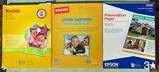 Printer Paper and Blank CD Lot