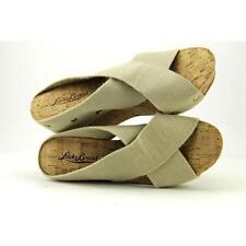 Calzado de mujer sandalias con tiras beige talla 36