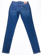 Levi's Ladies 710 Dark Blue Super Skinny Jeans