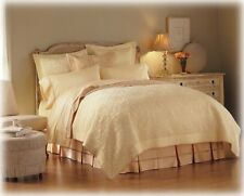 Court Of Versailles Moliere Collection Ivory Cream Embroidered King Pillow Sham