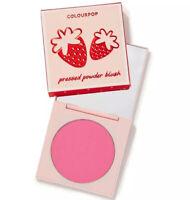 ColourPop SHORTCAKE Strawberry Pressed Powder Blush Cheek Compact