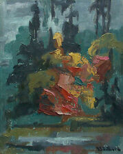 LAURA WELLARD - Cacophony - Mid Century Expressionist Painting - Canada - C.1969