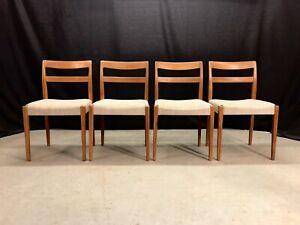 Vintage dining chairs retro mid century Nils Jonsson Scandi