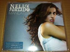 NELLY FURTADO Maneater 3TRX UNRELEASE & MIX CD Single SEALED  USA Seller