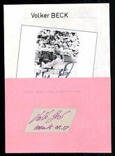 Volker Beck Top Orig. Sign. Athletics + G 7161