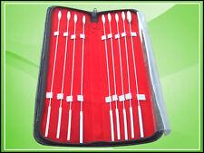 BAKES ROSEBUD URETHRAL SOUNDS SET 2MM 3MM 4MM 5MM 6MM 7MM 8MM 9MM 12MM