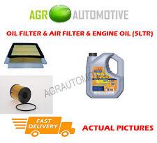 DIESEL OIL AIR FILTER KIT + LL 5W30 OIL FOR VAUXHALL CORSA 1.3 90 BHP 2006-