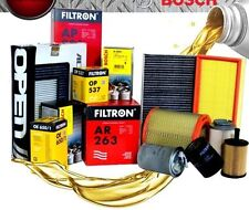KIT TAGLIANDO OLIO MOTORE GM 10W40+FILTRI(3PZ) FIAT MULTIPLA 1.6 BIPOWER '99>'10
