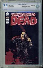 The Walking Dead #100 1st Negan  - Image Comics - 2nd Print CBCS 9.8 NM/MT