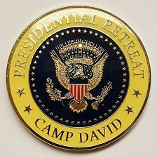 POTUS Presidential Retreat Camp David Maryland Fire Department #51 Coin 1.75""