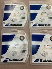 4 Packs Babolat Xcel French Open Black 16 String 40ft (Free Shipping)