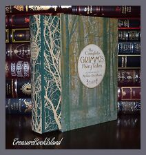 Complete Grimm's Fairy Tales Illustrated Rackham New Sealed Slipcase 2 Day Ship