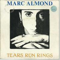 45 TOURS  2 TITRES / MARC ALMOND TEARS RUN RINGS    B1