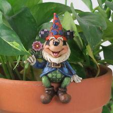 Jim Shore Garden MICKEY GNOME Pot Hanger Disney Traditions 4023519