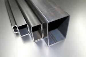 (41,00€/m) Stahlrohr 80x60x3mm Rechteckrohr Vierkantrohr Profilrohr bis 1000mm