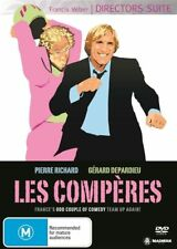 Les Comperes - Gerard Depardieu DIRECTORS SUITE R4 DVD FRENCH COMEDY FIlm RARE