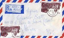 SOUTH AFRICA - INTERESSANTE RACCOMANDATA DA PIETERSBURG A FIRENZE - 1984