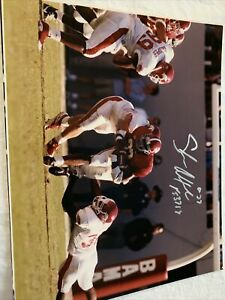 Shaun Alexander Signed Autographed Alabama Crimson Tide 8x10 Photo