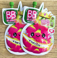 2x Fuji BB Dragon Fruit Cream SPF 35 Sun protection products for the face 6g.