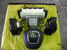 AUDI Q7 DRIVER/PASSENGER AIRBAGS SEATBELTS SRS UNIT ROOF AIRBAGS 2006-2011