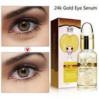 24K GOLD Collagen Anti-Wrinkle Serum Anti-aging Remove Dark Circles Eye Essence