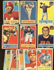 1956+Topps+Football+Card+Lot+33+Different