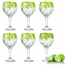Gin Glasses G&T Balloon Copa Spanish Gin and Tonic Cocktail 645ml x 6