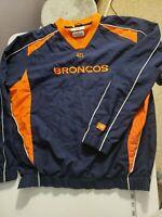 Vintage NFL Denver Broncos Windbreaker Pullover