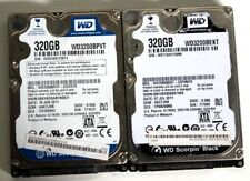 Western Digital Scorpio Black WD3200BEKT & Blue WD3200BEVT 320GB Hard Drive
