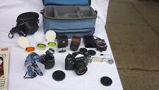 german exa 1 B camera, lens pentacon auto 1,8 / 50 + pentacon auto 2,8 / 29