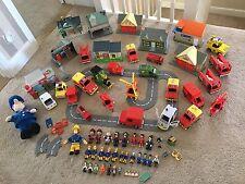 Massive Fireman Sam & Postman Pat Bundle maisons figures Accessoires & plus
