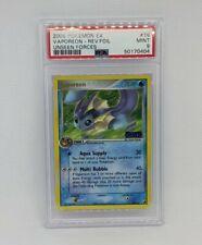 Pokemon Card Reverse Holo Vaporeon 19/115 PSA 9 MINT Ex Unseen Forces