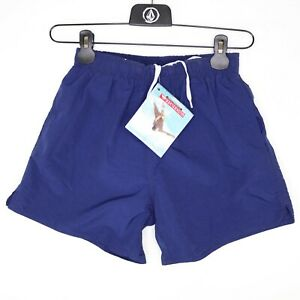 Quiksilver Corpo Volley Boys Small Swim Shorts Blue Mesh Lined