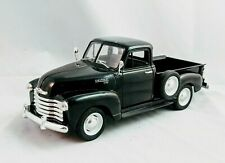 WELLY 1953 CHEVROLET BLACK 3100 PICK UP TRUCK 1:24 DIECAST MODEL TRUCK # 2087