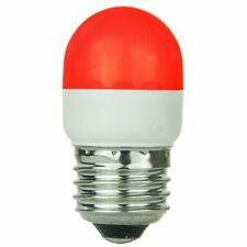 Sunlite 80253-SU T10/6LED/1W/R LED 120-volt 1-watt Medium Based T10 Lamp, Red
