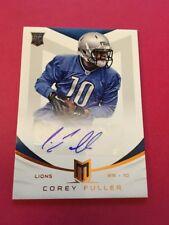 Corey Fuller  Lions 2013 Panini Momentum Rookie Signatures #119  379/599