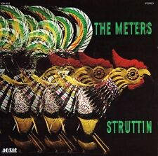 The Meters STRUTTIN' Limited Edition JOSIE RECORDS New Sealed COLORED VINYL LP