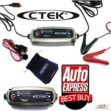 CTEK Multi MXS 5.0 12V Car Battery Smart Trickle Charger & INDICATOR 56-382