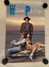 Wilson Phillips Promo Poster 1990 Sbk Records