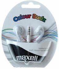MAXELL - Colour Budz White Stereo Earphones