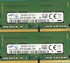 New listing Samsung M471A5143Eb0-Cpb- 8Gb (2x4Gb) Pc4-17000 Ddr4-2133Mhz 1Rx8 Non-Ecc
