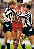 Signed Scott Sellars Newcastle United v Sunderland Autograph Photo