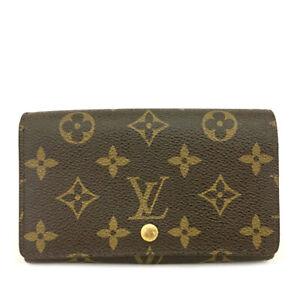 Louis Vuitton Monogram Porte Monnaie Billets Tresor Bifold Wallet /C0629